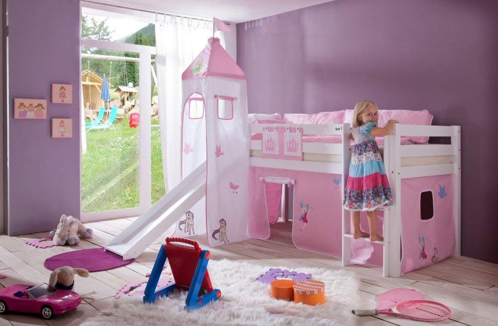 Etagenbett Prinzessin : 👑 ein prinzessin hochbett für deine kleine wir stellen